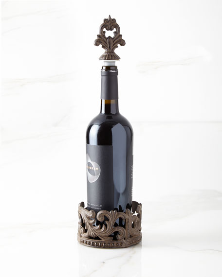 GG Collection Wine Bottle Holder & Stopper