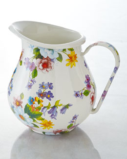 MacKenzie-Childs Flower Market Pitcher