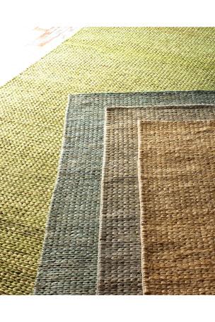 Earth Tones Braided Flatweave Rug, 5' x 8'