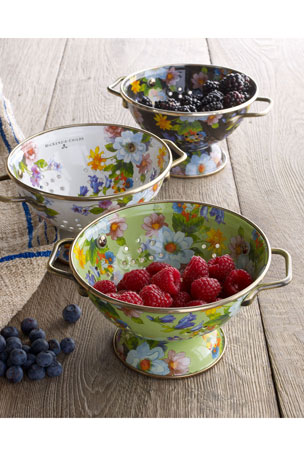 MacKenzie-Childs Small Flower Market Colander