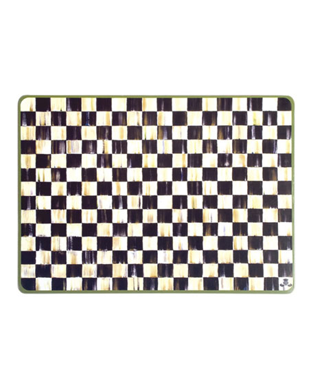 MacKenzie-Childs Courtly Check Placemats, Set of 4