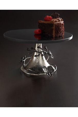 Michael Aram Black Orchid Cake Stand