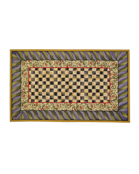 MacKenzie-Childs Courtly Check Rug & Matching Items