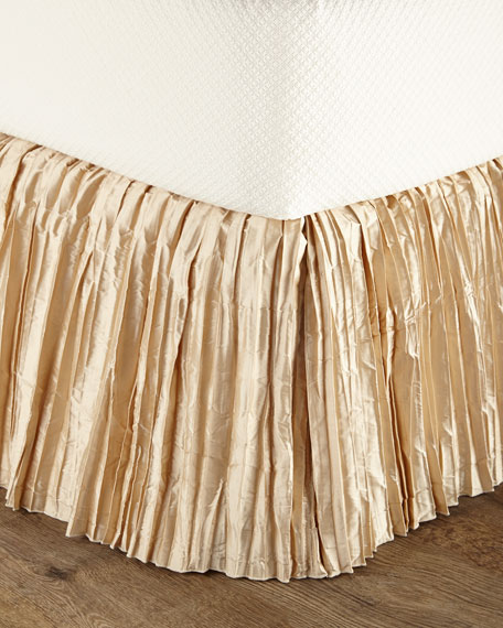 Neutral Modern Queen Dust Skirt