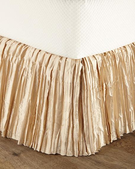Neutral Modern Queen Dust Skirt