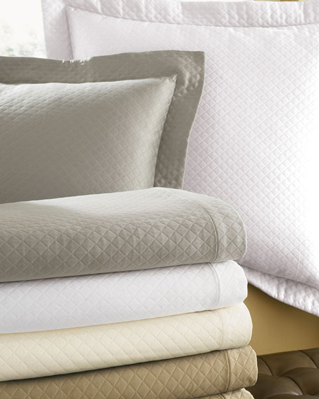SFERRA Diamond-Pique European Sham