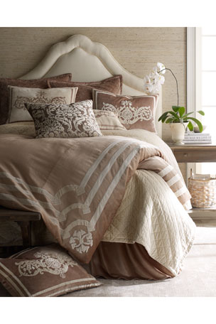 "Lili Alessandra Versailles Pillow, 24""Sq."