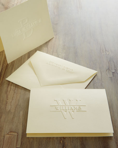 50 Regalia Notes/Personalized Envelopes