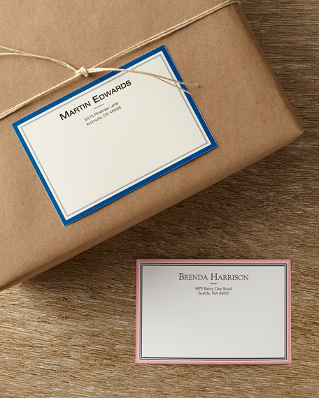 100 Personalized Mailing Labels