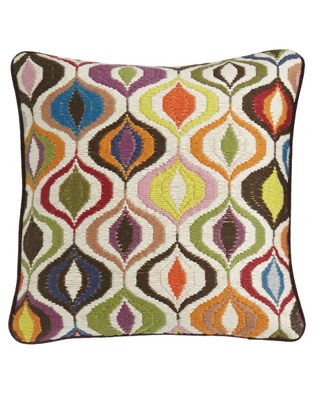 Jonathan Adler Bargello Waves Pillow