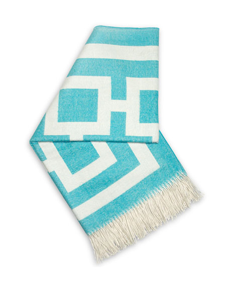Turquoise Nixon Throw