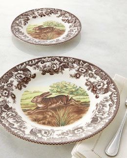 "Spode Four ""Rabbit"" Dinner Plates"