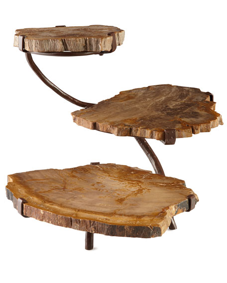 Petrified Wood Three-Tier Server