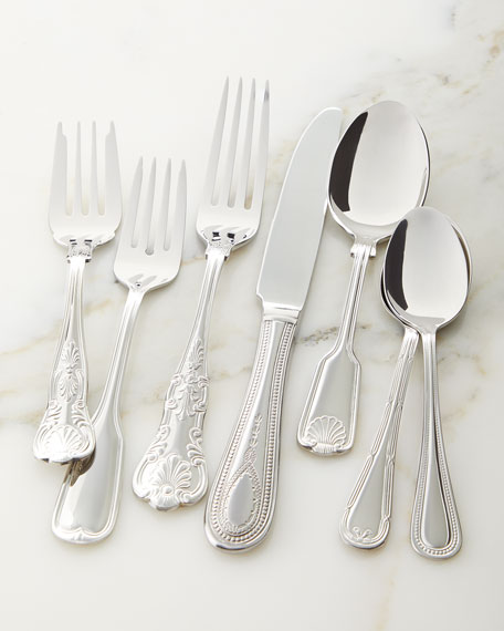 Towle Silversmiths 7-Piece Hotel Flatware Place Setting
