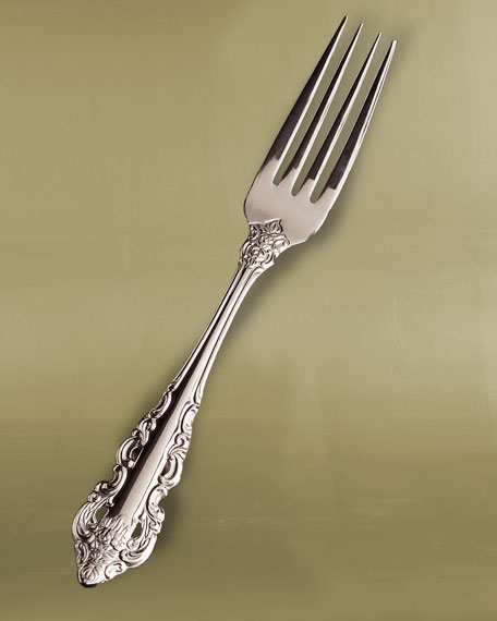 5-Piece Antique Baroque Flatware Place Setting