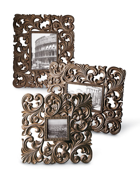 Small Cast-Aluminum Frame