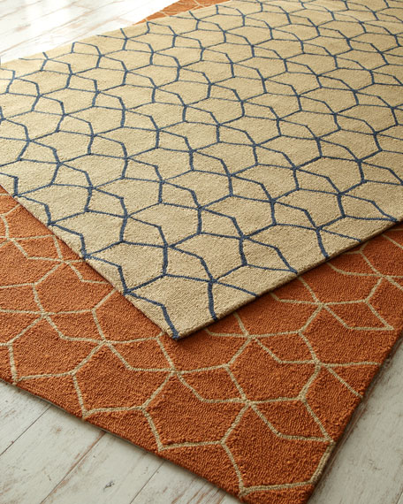 hexagon outdoor rug 7 39 6 x 9 39 6