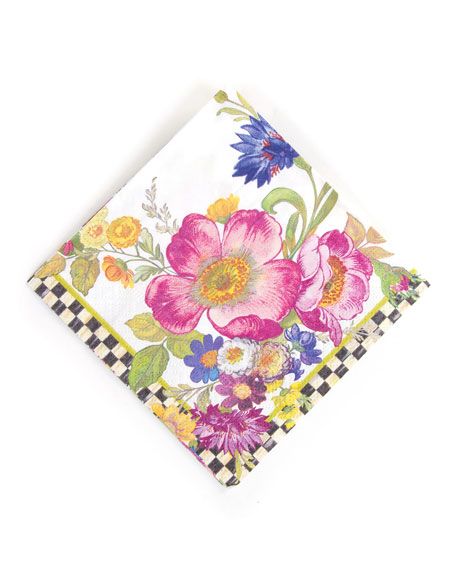 20 Flower Market Dinner Napkins