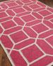 Octagonal Maze Flatweave Rug