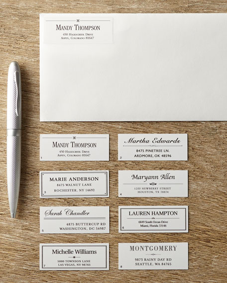 480 Designer Address Labels
