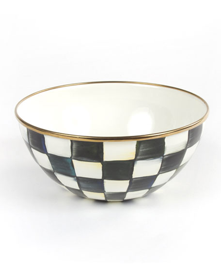 MacKenzie-Childs Small Courtly Check Everyday Bowl