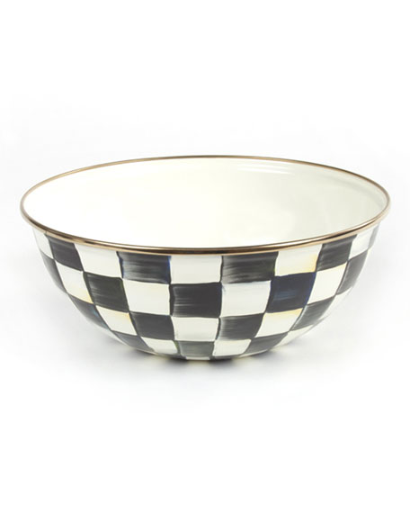 MacKenzie-Childs Medium Courtly Check Everyday Bowl