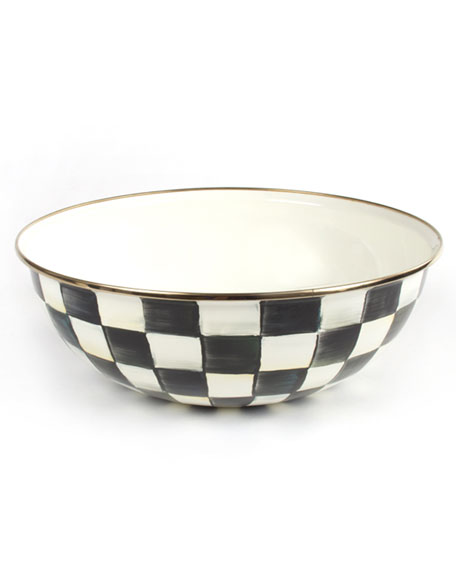 MacKenzie-Childs Extra-Large Courtly Check Everyday Bowl
