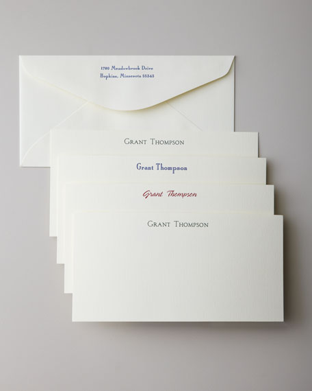 50 Oversized Correspondence Cards with Plain Envelopes