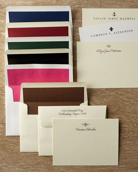 Neiman Marcus 50 Motif Correspondence Cards with Plain