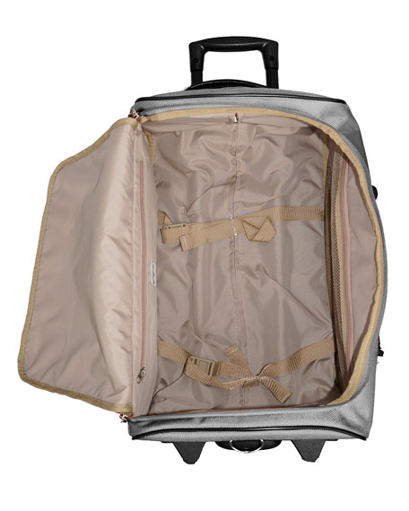 "Black Pronto 28"" Rolling Duffel Luggage"