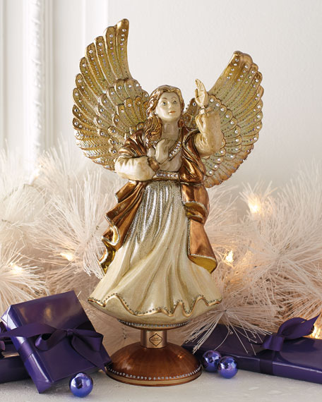 """Rejoicing Angel"" Christmas Tree Topper"