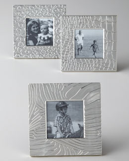 Three Animal-Print Frames