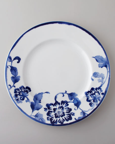 """Four-Piece """"Somerset Island"""" Floral Dinnerware Place Setting"""