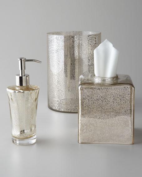 Kassatex Vizcaya Glass Vanity Accessories