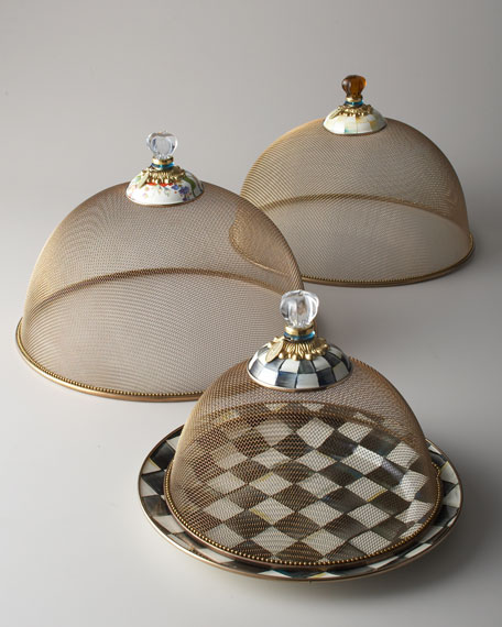Large Courtly Check Mesh Dome