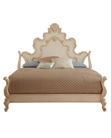 Nicolette Cream King Bed