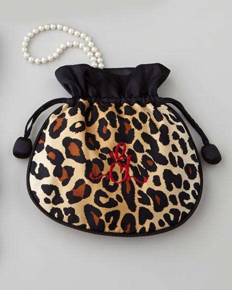 Zazendi Leopard-Print Jewelry Pouch