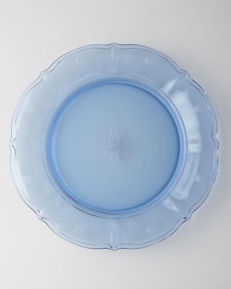 Four Delft-Blue Colette Dessert Plates