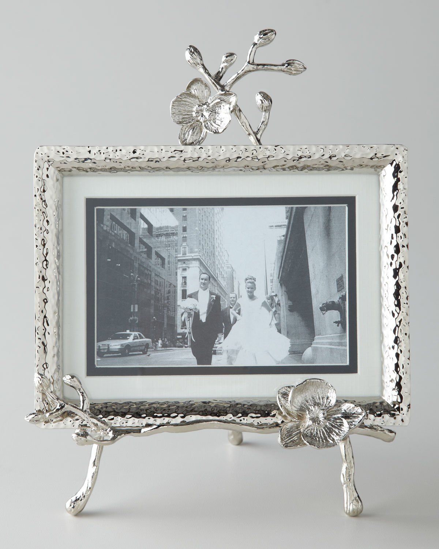 da20a98d60eb Michael Aram White Orchid Easel Picture Frame