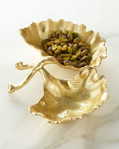 Michael Aram Ginko Double-Compartment Dish