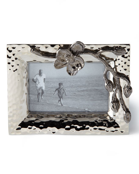 Black Orchid Mini Picture Frame