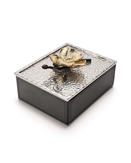 Black Orchid Jewelry Box