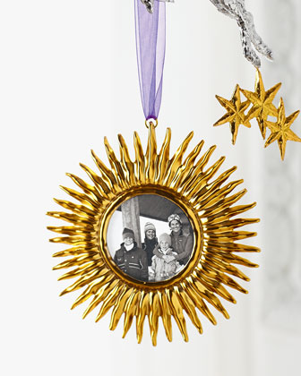 Michael Aram Sunburst Frame Christmas Ornament