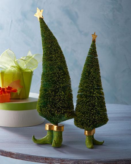 Two Sisal Elf Trees