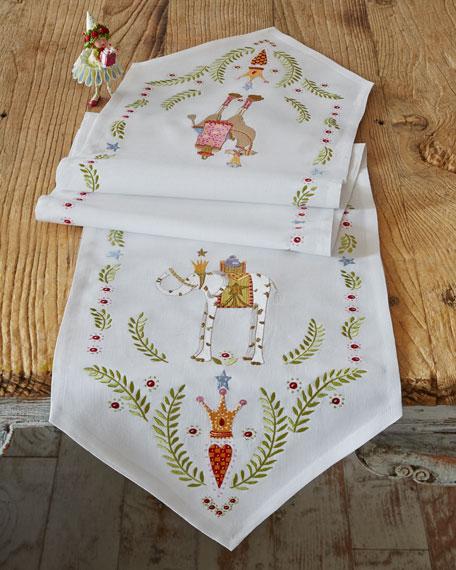 Nativity Table Runner