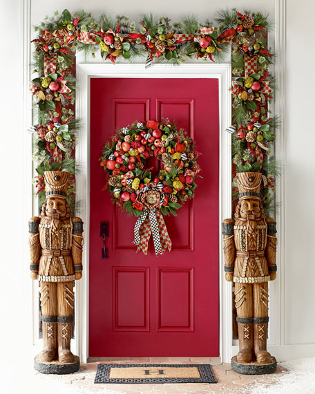 "Estate Barn 36"" Wreath"