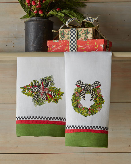Evergreen Guest Towel Set