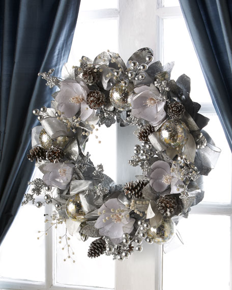 Silver & Pewter Wreath