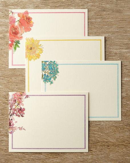 William Arthur Watercolor Floral Flat Notes