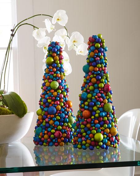 """19"""" Multicolored Ball Tree"""
